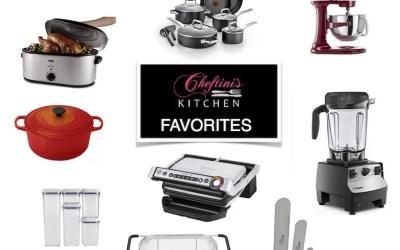 Cheftini's Kitchen Holiday Favorites
