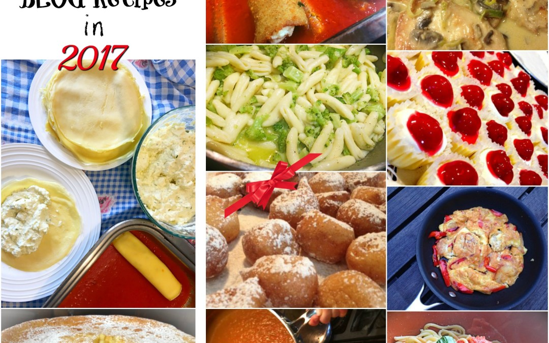 Most Trending Blog Recipes of 2017