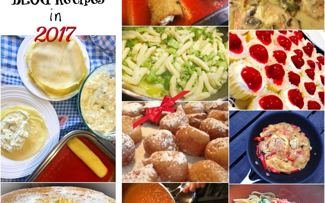 Most Trending Blog Recipes of 2017