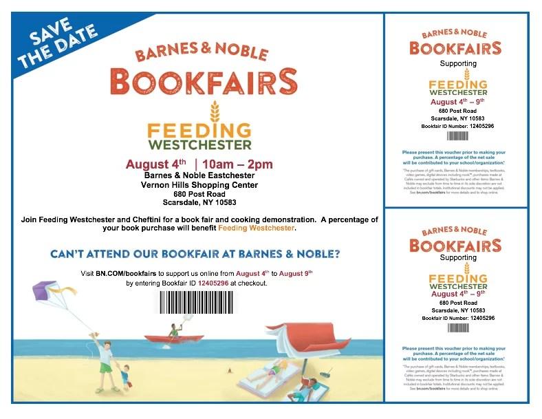 Barnes & Noble Book Fair Benefiting Feeding Westchester