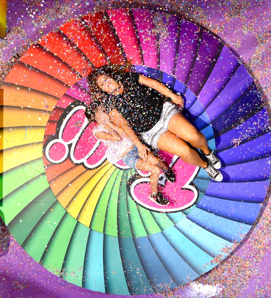 candytopia selfie station