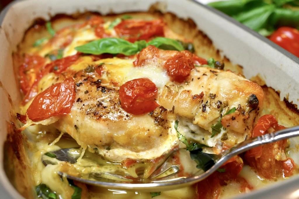 Mozzarella Tomato Chicken Breast
