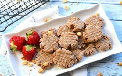 Chocolate Peanut Protein Shake Cookies