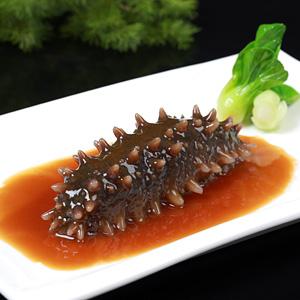 Spike sea cucumber soaked in vinegar