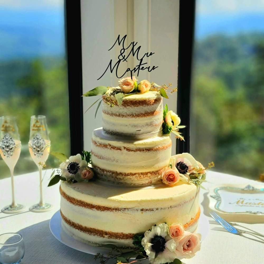 Wedding Cakes by Chef Tony