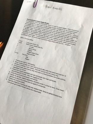 recipes testing veggie burger recipe