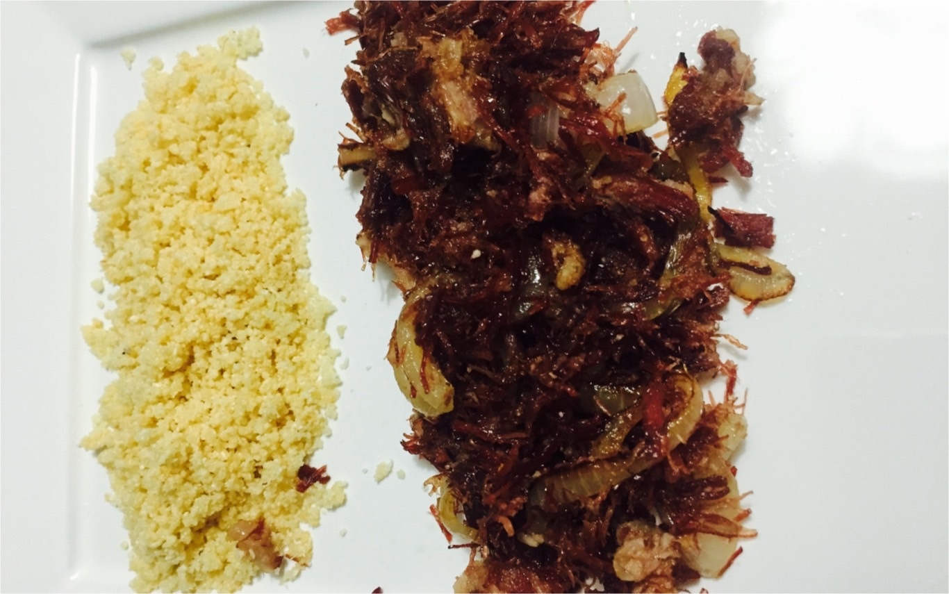 Roupa Velha de Jerked Beef