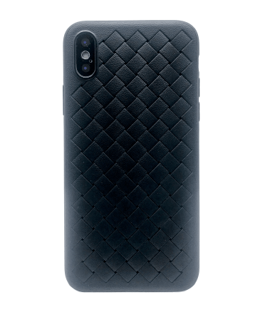 Чехол Baseus BV Weaving 3D для iPhone X черный