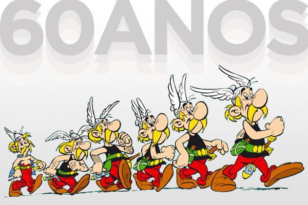 Os 60 anos de Asterix e o reforço de Adrenalina