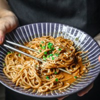 Taiwanese Sesame Noodles (麻醬麵)