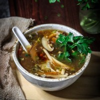 Vegan Hot and Sour Soup