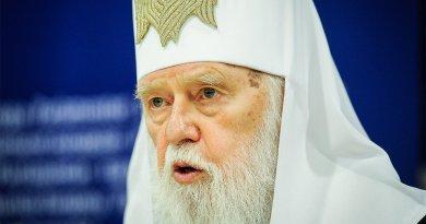Филарет отозвал подпись под документом о слиянии церквей на Украине