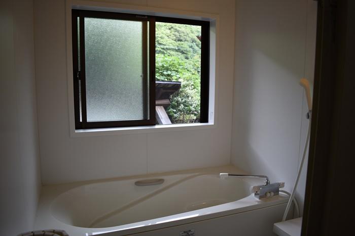 高知県梼原町の古民家のお風呂