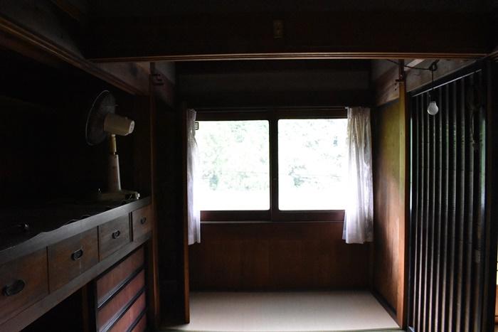 高知県梼原町の古民家の内部