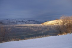 Lake Chelan in Winter