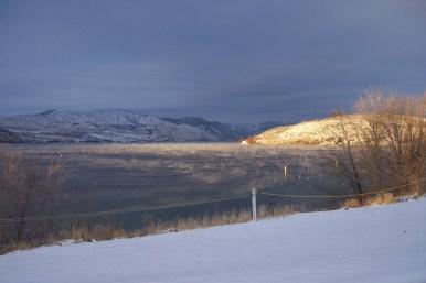 Lake Chelan in Winter