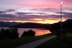 Sunset at Don Morse Park