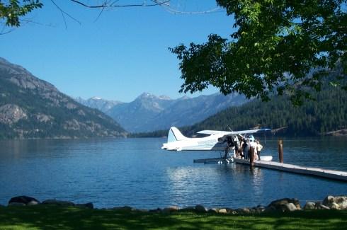 Float Plane on Lake Chelan