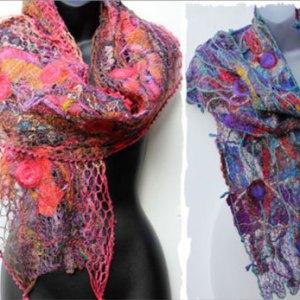 Handmade Scarves & Wraps