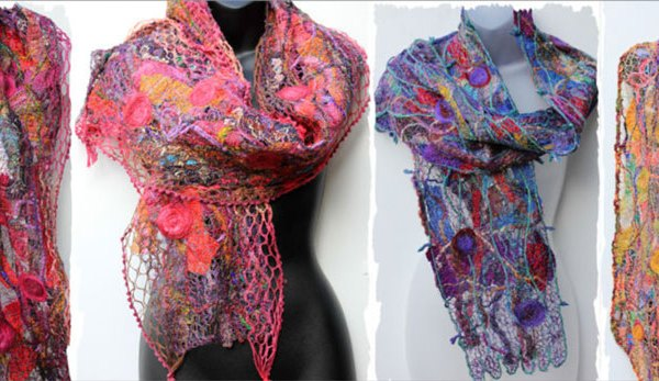 Handmade Scarves & Wraps