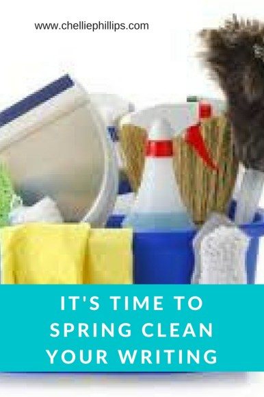 Spring clean your writing blog header