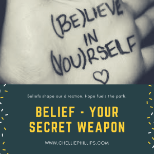 Belief – your hidden weapon