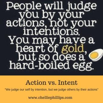 Action vs intent