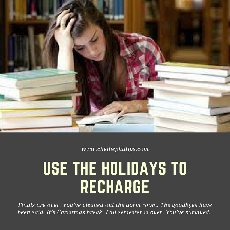 Use the holidays to recharge