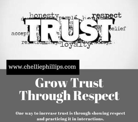 Grow Trust Through Respect