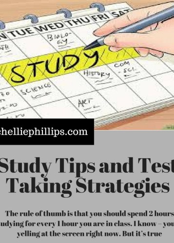 test taking and study skills