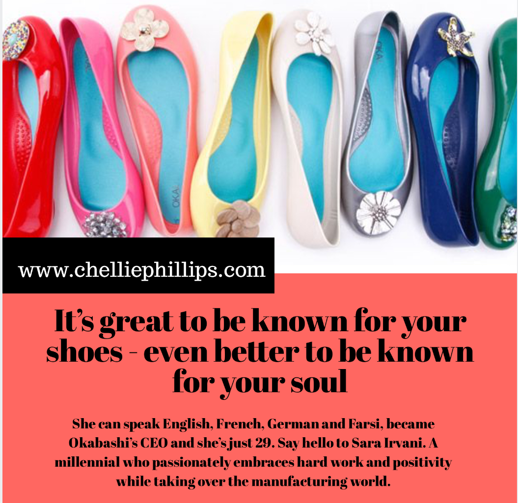 It's great to be known for your shoes – even better to be known for your soul