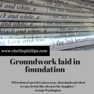 Groundwork laid in foundation