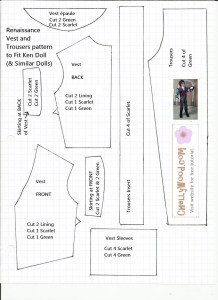 Ken Clothes Pattern free to download