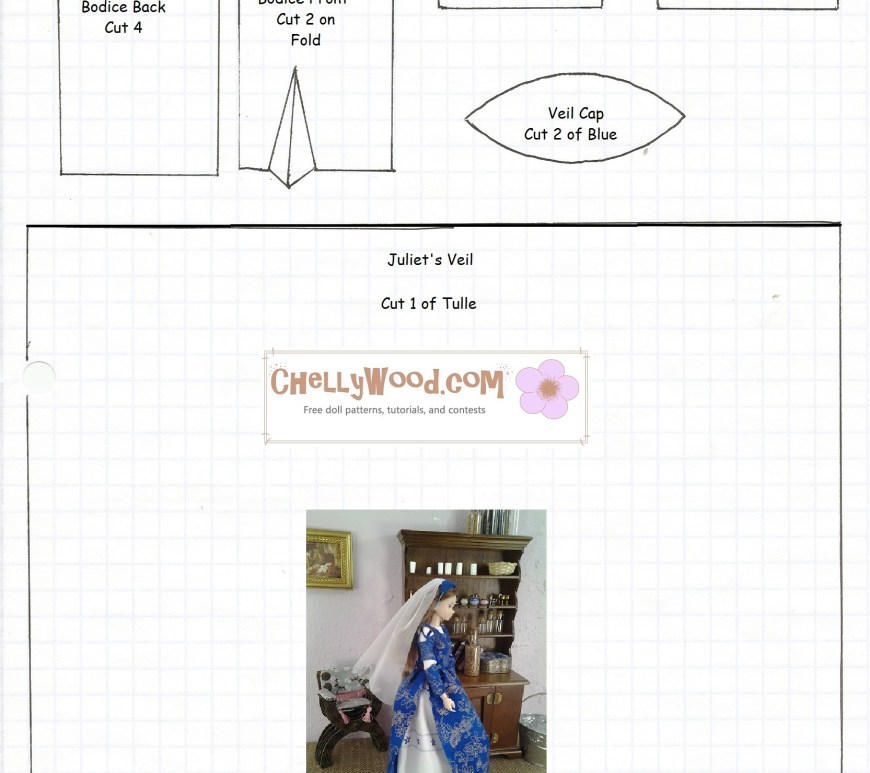 Momoko doll clothes pattern