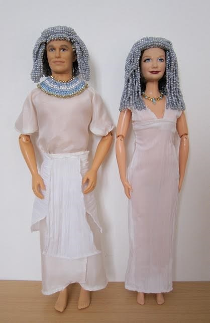 Egyptian Mayor and His Lady Created by Stephanie of Normandie