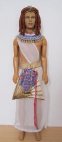Doll Clothes and Beaded Accessories for Ramses III Doll Made by Stephanie of Normandie