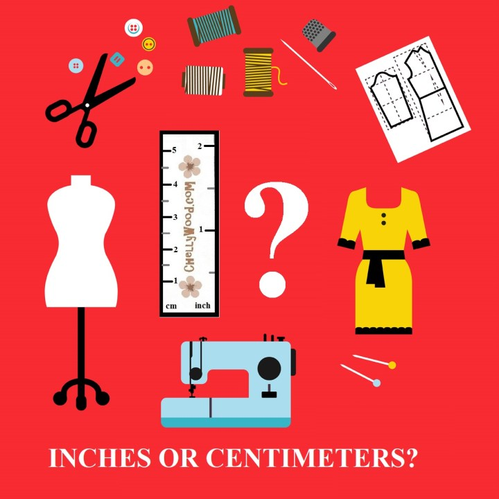 Today's blog post is a poll. Chelly Wood, the doll clothes designer, is wondering whether her blog followers prefer measurements in inches or cm. Feel free to cast your vote at ChellyWood.com where doll clothes sewing patterns can be downloaded for free.