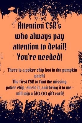 Lost Poker Chip