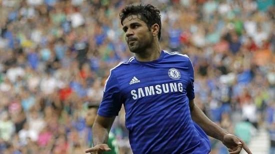 Diego Costa vem surpreendendo positivamente os companheiros de Chelsea (Fonte: SkySports)