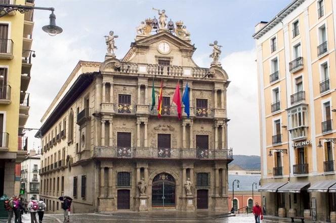 Palácio de Navarro, em Pamplona (Foto: Eusk Pictures)