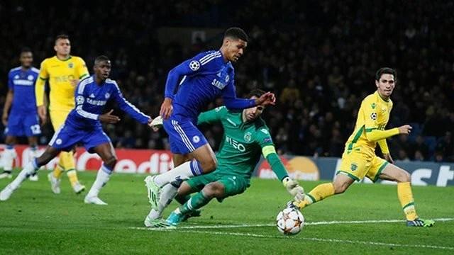 Loftus-Cheek estreou pelo Chelsea na atual edição da UEFA Champions League