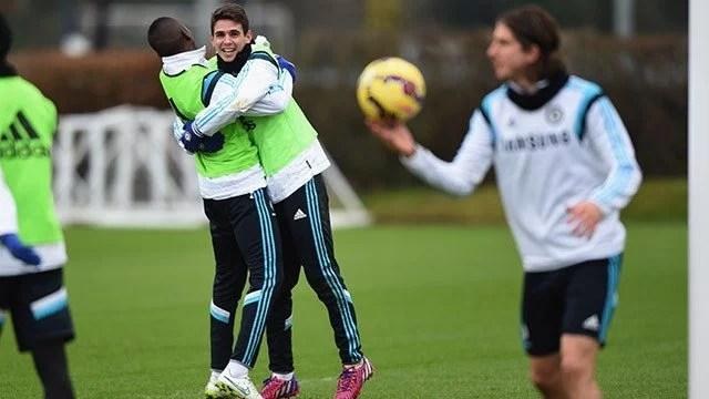 """""""Todos estão muito animados"""", afirma Oscar (Foto: Chelsea FC)"""