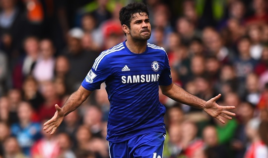Diego Costa é o artilheiro do time na temporada (Foto: Shaun Botteril/ Getty Images)