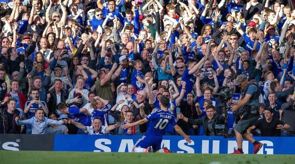 Hazard foi o Jogador do Ano da Liga (Foto: Chelsea FC)