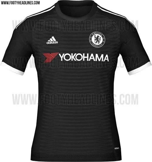 6a4634c60e As prováveis camisas do Chelsea para a temporada 2015-2016 - Chelsea ...