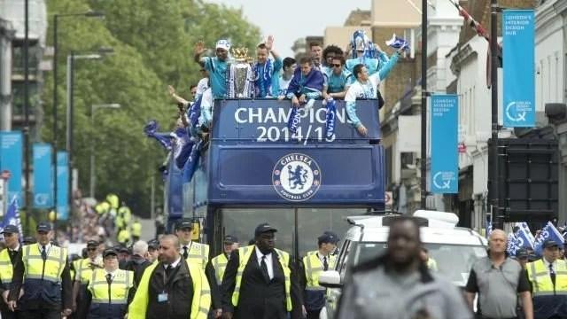 Os blues esperam viver mais cenas como essa (Foto: Chelsea FC)