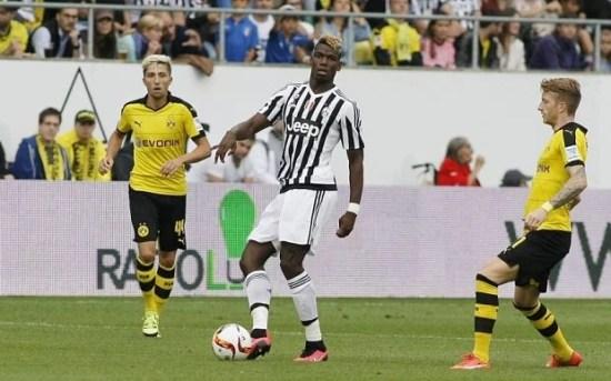 Pogba está com futuro incerto na Juventus (Foto: REX)