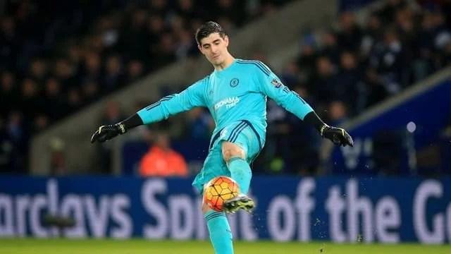 """Courtois: """"Estamos muito desapontados. Foi um jogo que queríamos ganhar"""" (Foto: Chelsea FC)"""