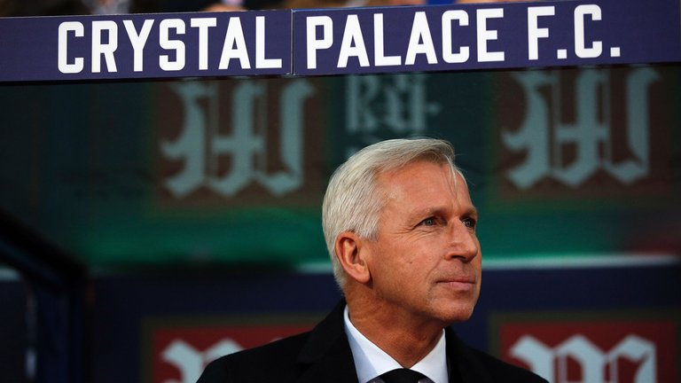 Pardew comentou sua situação no Palace (Foto: Sky Sports)