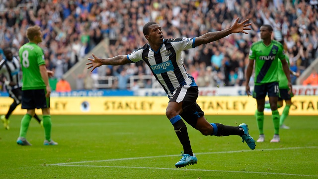 Wijnaldum é o atual craque do Newcastle (Foto: NUFC.co.uk)
